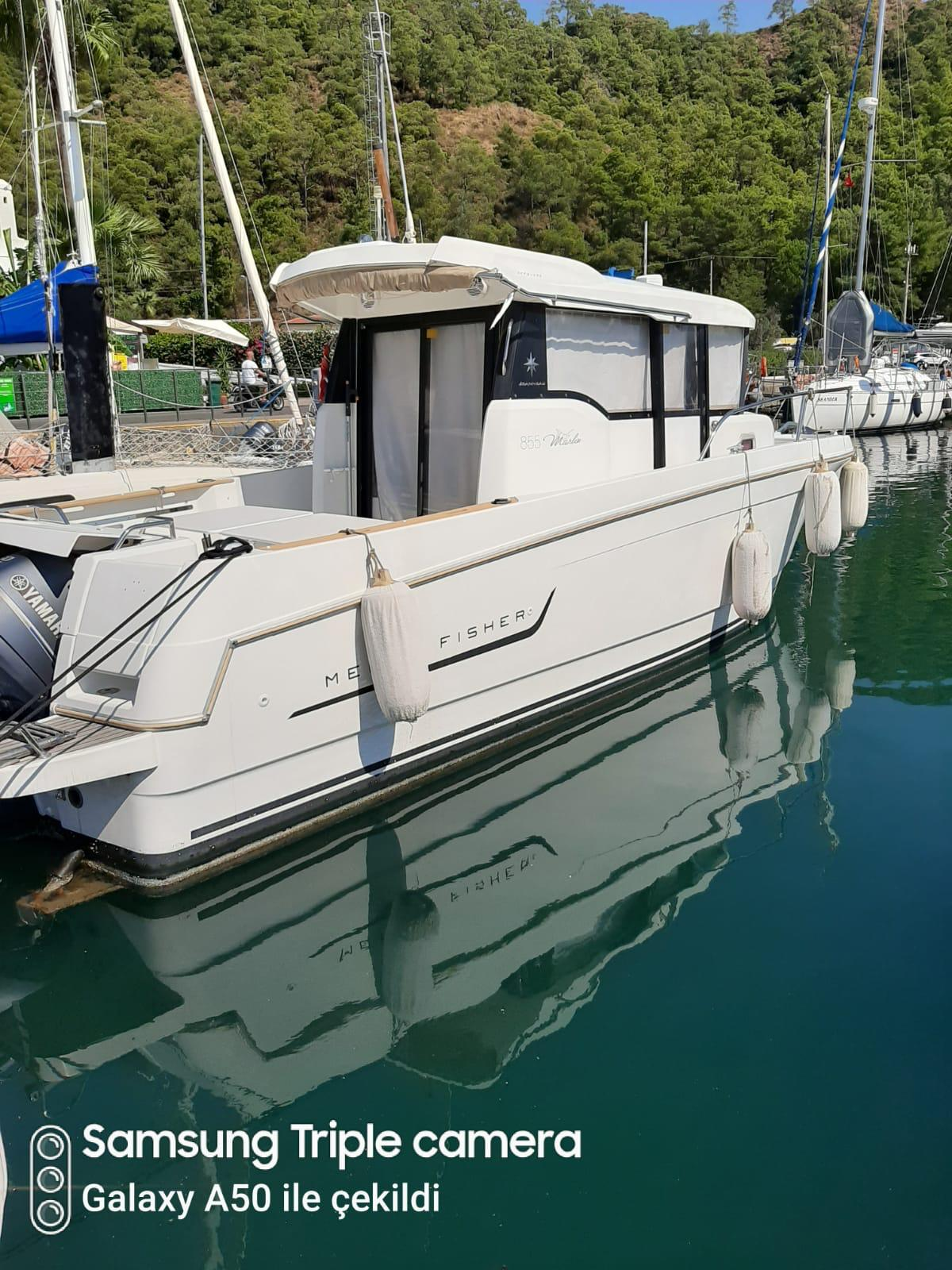 2014 Model Cok Az Kullanilmis Merry Fisher 855 Marlin (600.000 TL)